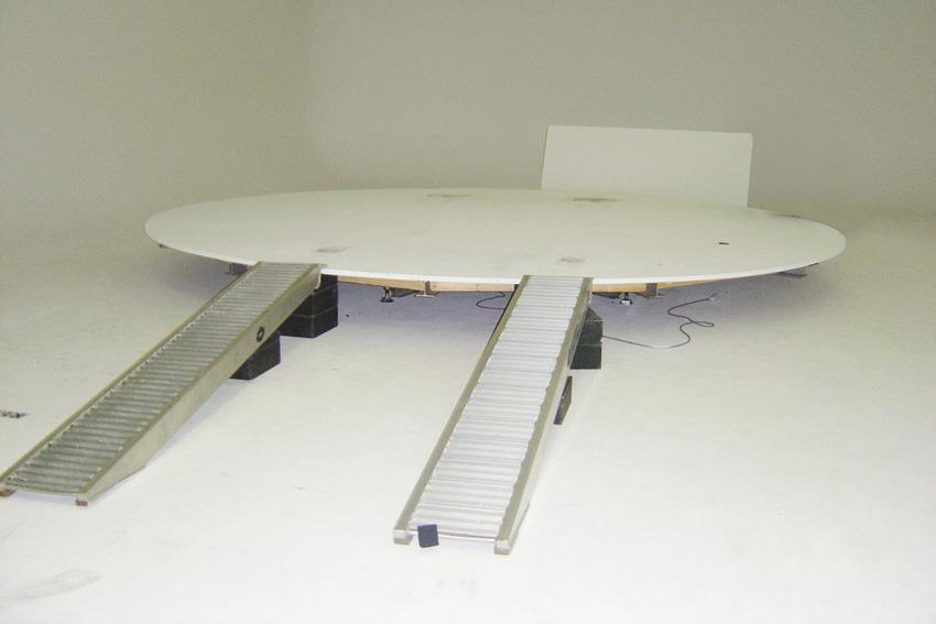 plateau tournant SSD5000-2